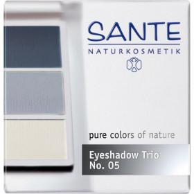 Poudre fard à paupières trio Bleu Océan – Maquillage Sante