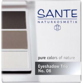 Maquillage Poudre fard à paupières trio Smokey – Sante