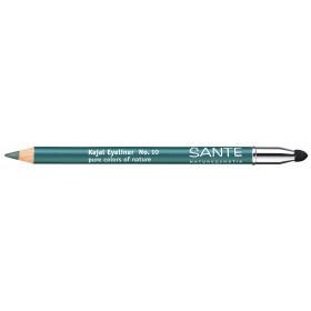 Crayon à paupière KAJAL N°10 Bleu pétrole – Maquillage Sante
