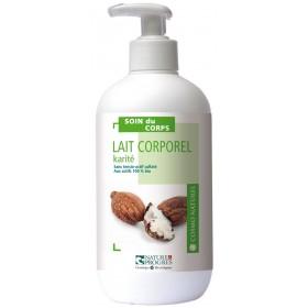 Lait corporel Beurre de Karité hydratant – 500ml – Cosmo Naturel