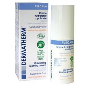 Purcalm - Crème hydratante apaisante Visage – 50 ml – Dermatherm