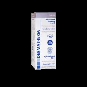 Purliss - Soin contour des yeux 4 en 1 – 15ml – Dermatherm