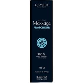 Huile de massage FRAÎCHEUR – 100ml – Laboratoire Gravier