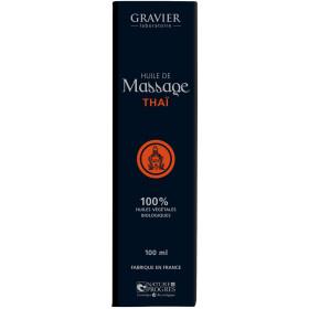 Huile de massage THAÏ – 100ml – Laboratoire Gravier