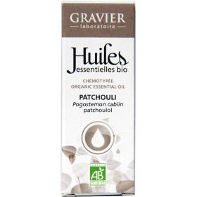 Patchouli Bio AB - Plante - 10 ml - Huile essentielle Laboratoire Gravier