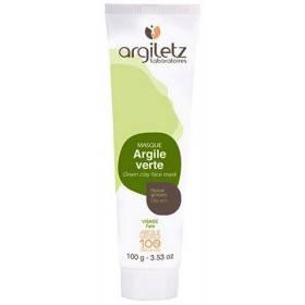 Masque argile verte peaux grasses 100g - Argiletz