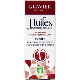 Cyprès AB - Rameaux - 10 ml - Huile essentielle Laboratoire Gravier