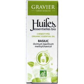 Basilic AB - Plante fleurie - 10ml - Huile essentielle Laboratoire Gravier