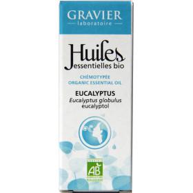 Eucalyptus globulus AB - Feuilles - 10ml - Huile essentielle Laboratoire Gravier