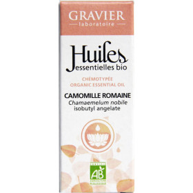 Camomille romaine AB - Fleurs - 5 ml - Huile essentielle Laboratoire Gravier