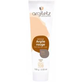 Masque argile rouge - Peaux sèches - 100 gr - Argiletz