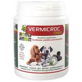 Vermifuge VERMICROC chien - boulette appétente - 100 grs