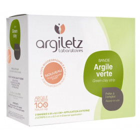 Bande d'argile verte prête à l'emploi – Argiletz