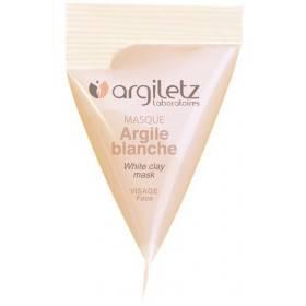 Berlingot masque argile blanche – 15ml – Argiletz