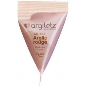 Berlingot masque argile rouge – 15ml – Argiletz