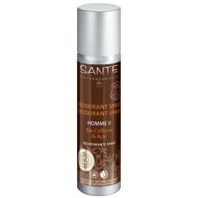 Déodorant corporel Homme Bio Caffeine & Açai – spray 100 ml - Sante