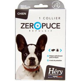 Collier répulsif Zéropuce pour chien - Laboratoire Héry