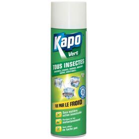 Aérosol tous insectes effet givrant - 500 ml - Kapo Vert