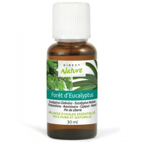 Foret d'eucalyptus – Synergie 30ml – Direct Nature