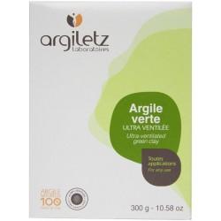 Argile verte brute illite ultra-ventilée – 300 gr – Argiletz