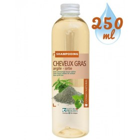 Shampooing Cheveux Gras Argile Ortie - 250ml – Cosmo Naturel