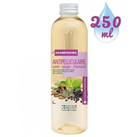 Shampooing Anti-pelliculaire Cade Sauge Rhassoul – 250 ml – Cosmo Naturel
