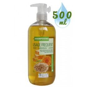 Shampooing Usage Fréquent Miel Calendula Avoine – 500ml – Cosmo Naturel