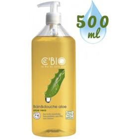 Gel bain & douche Aloe Vera - 500ml – Ce'Bio