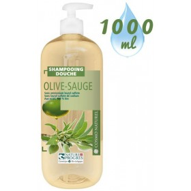 Shampooing douche Olive Sauge – 1000ml – Cosmo Naturel