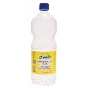Vinaigre d'alcool blanc Bio 12% - 1 litre - Ecodoo