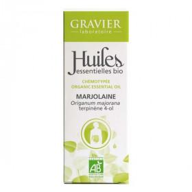 Marjolaine AB - Sommités fleuries - 10 ml -  Huile essentielle Laboratoire Gravier