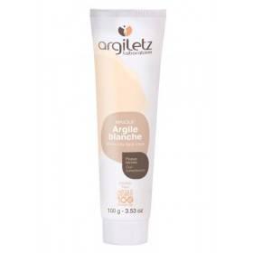 Masque argile blanche - Peaux Ternes - 100 ml - Argiletz