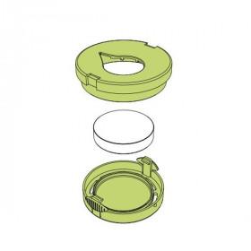 Recharges céramiques avec supports plastiques pour Pluglia Alizée - Lot de 2