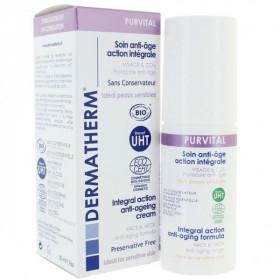 Purvital - Soin anti-âge action intégrale Visage et cou – 50 ml – Dermatherm