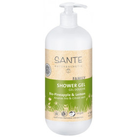 Gel douche ananas et citron bio - 950 ml - SANTE Family