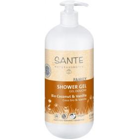 Gel douche coco et vanille bio - 950 ml - SANTE Family