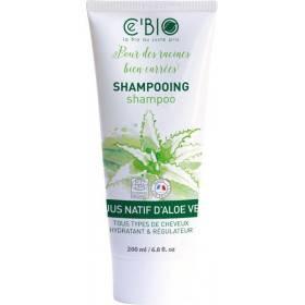 Shampooing au jus natif d'Aloe vera bio - 200 ml - Ce'Bio