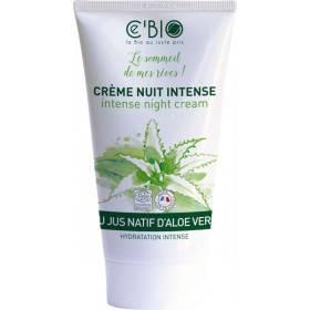 Crème de nuit hydratation intense à l'Aloe vera - 50 ml - Ce'Bio