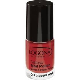 Vernis à ongles naturel n°03 Classic Red - Logona