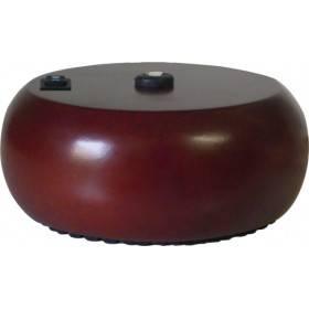 Pompe galet bois foncé