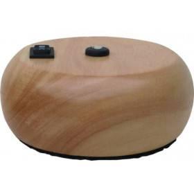 Pompe galet bois clair