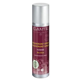 Déodorant corporel Homme Bio Aloé – spray 100ml - Sante