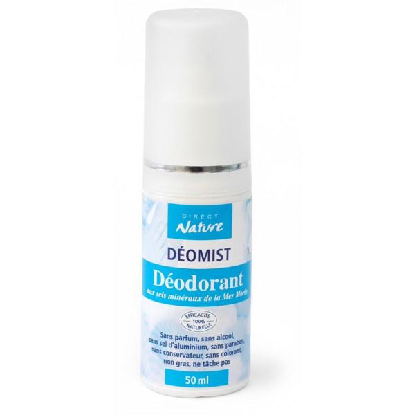 Déodorant Déomist aux sels minéraux de la Mer Morte -50 ml - Direct Nature - Vue 2