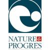Logo Nature et Progrès pour le gel bain & douche Fleur du Nil Géranium – 500ml – Cosmo Naturel