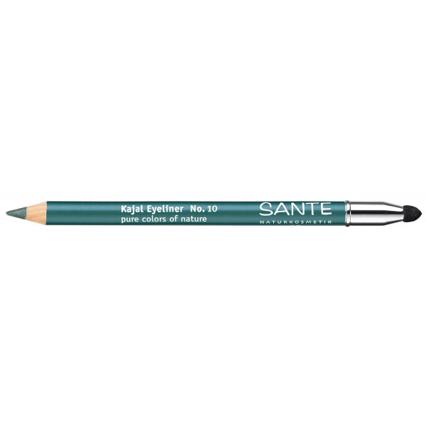 Maquillage Crayon à paupière KAJAL N°10 Bleu pétrole – Sante