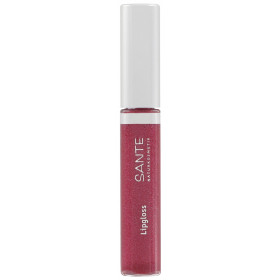 Maquillage Gloss à lèvres N°04 Red Pink – 8ml – Sante