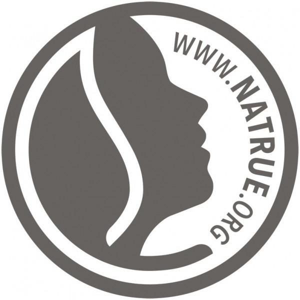 Logo Natrue pour le gloss à lèvres N°04 Red Pink – 8ml – Sante