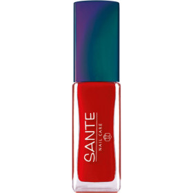 Maquillage Vernis à ongles N°22 Poopy Red – 7ml – Sante