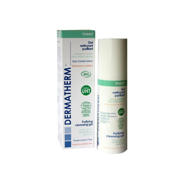 Purnet - Gel nettoyant purifiant Visage et corps – 150ml – Dermatherm