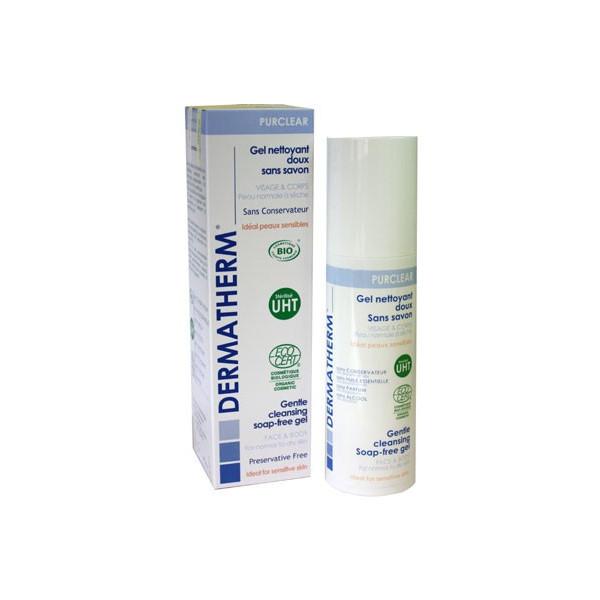 Purclear - Gel nettoyant doux sans savon Visage et corps – 150ml - Dermatherm